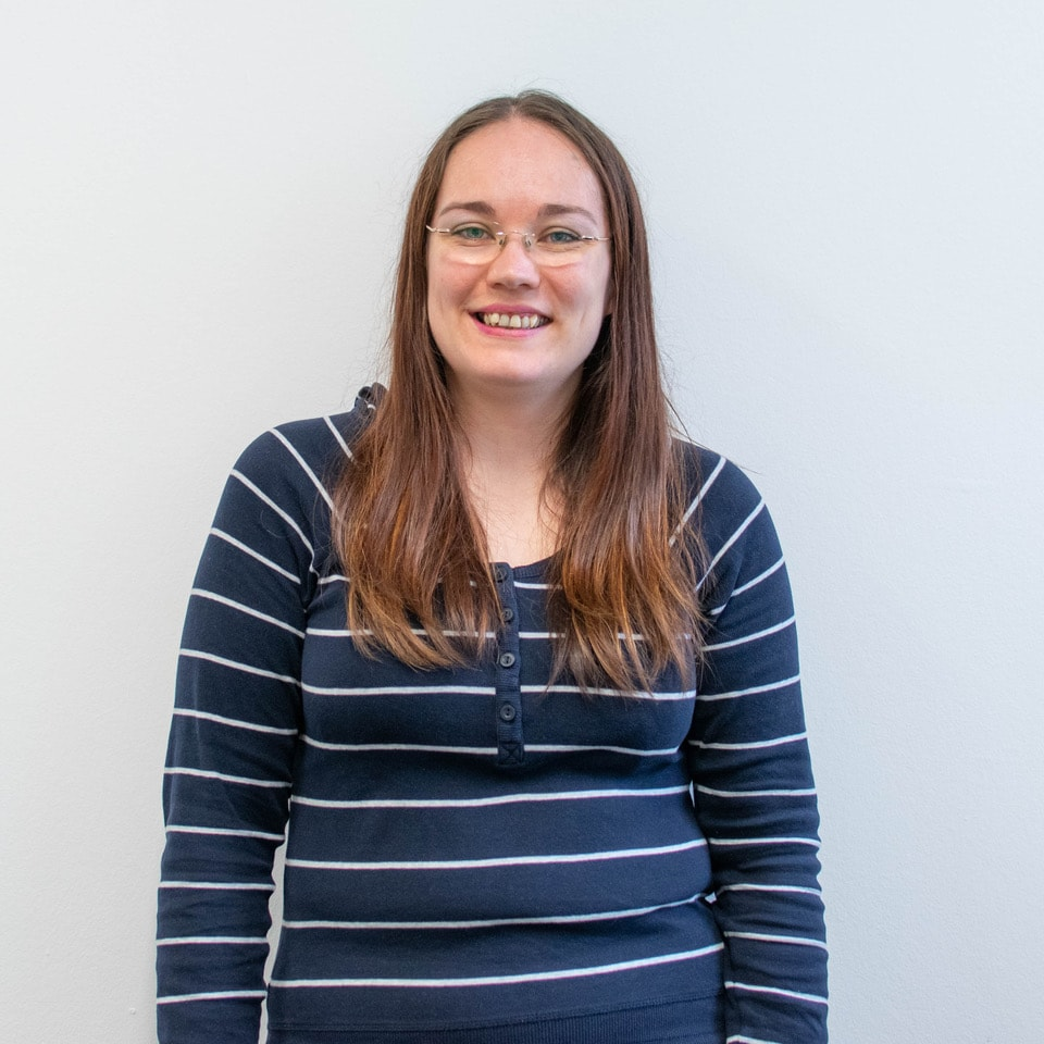Profile photo of Kirsty Maclean, Graphic Designer. Strive Digital UK Glasgow