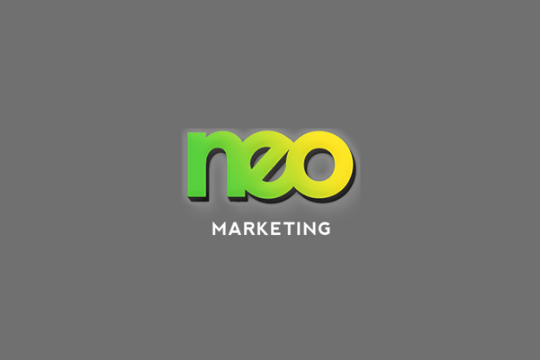 Strive Digital: Red Acquires Neo Marketing blog post cover with a red and purple gradient background and Strive Digital logo. with faded Neo Marketing logo