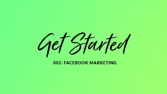 Get started with Facebook Marketing blog cover image. Strive Digital Glasgow Blog
