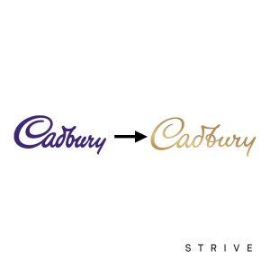 Cadbury Logo Re Brand